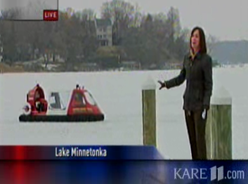 hovercraft on minnetonka
