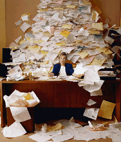 I'm over my head. It's tax time!